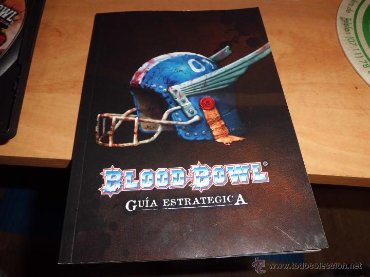Juegos Antiguos: warhammer blood bowl pc dvd edicion elfos oscuros con fantastica guia estrategica - Foto 6 - 40828216