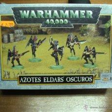 Juegos Antiguos: WARHAMMER 40000: AZOTES ELDARS OSCUROS / GAMES WORKSHOP ¡¡¡¡ OFERTA !!!!. Lote 41056941
