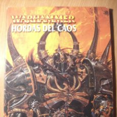 Juegos Antiguos: WARHAMMER - HORDAS DEL CAOS. Lote 41676495