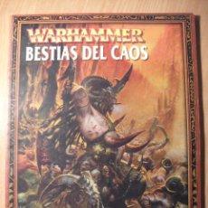 Juegos Antiguos: WARHAMMER - BESTIAS DEL CAOS. Lote 41676595