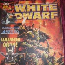 Juegos Antiguos: REVISTA WHITE DWARF #39 – WARHAMMER – EL SEÑOR DE LOS ANILLOS – BLOOD BOWL -. Lote 42186578