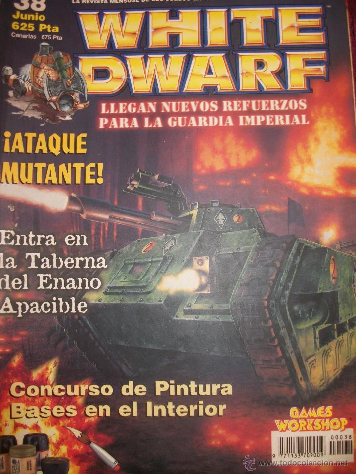 REVISTA WHITE DWARF #38 – WARHAMMER – EL SEÑOR DE LOS ANILLOS – BLOOD BOWL - (Juguetes - Rol y Estrategia - Warhammer)