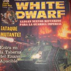 Juegos Antiguos: REVISTA WHITE DWARF #38 – WARHAMMER – EL SEÑOR DE LOS ANILLOS – BLOOD BOWL - . Lote 42186604