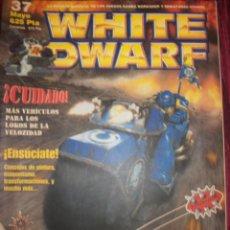 Juegos Antiguos: REVISTA WHITE DWARF #37 – WARHAMMER – EL SEÑOR DE LOS ANILLOS – BLOOD BOWL - . Lote 42186633