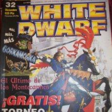 Juegos Antiguos: REVISTA WHITE DWARF #32 – WARHAMMER – EL SEÑOR DE LOS ANILLOS – BLOOD BOWL - . Lote 42186696