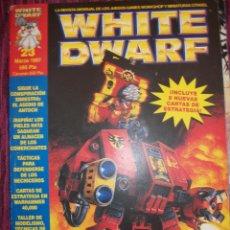Juegos Antiguos: REVISTA WHITE DWARF #23 – WARHAMMER – EL SEÑOR DE LOS ANILLOS – BLOOD BOWL -. Lote 42186747