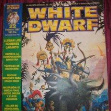Juegos Antiguos: REVISTA WHITE DWARF #22 – WARHAMMER – EL SEÑOR DE LOS ANILLOS – BLOOD BOWL - . Lote 42186766