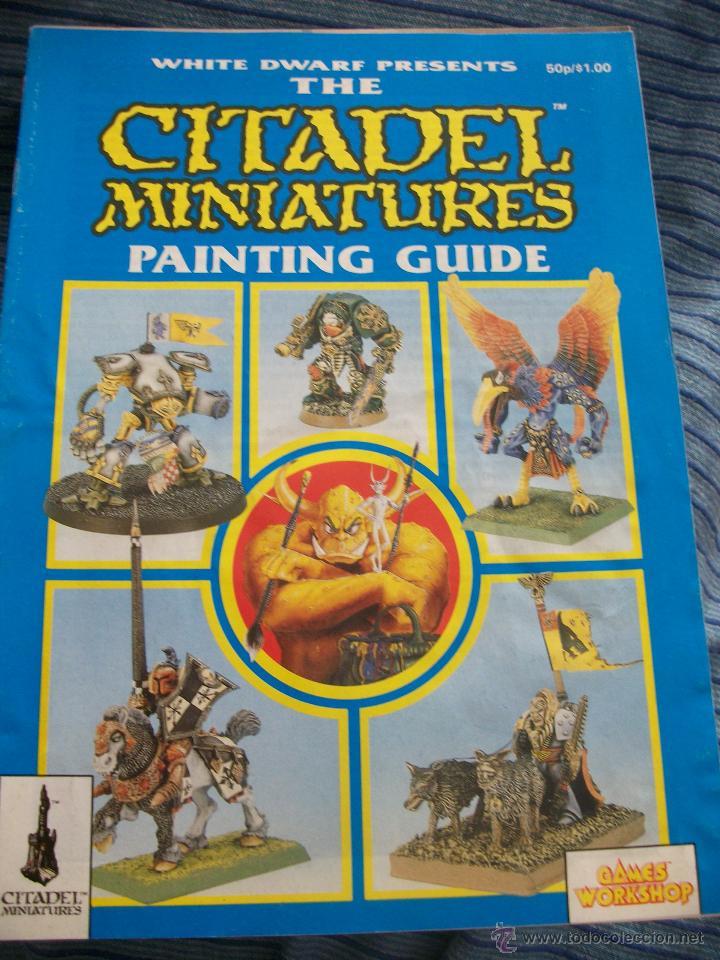 citadel miniatures painting guide warhammer comprar juegos rh todocoleccion net citadel miniatures painting guide pdf citadel miniatures painting guide pdf