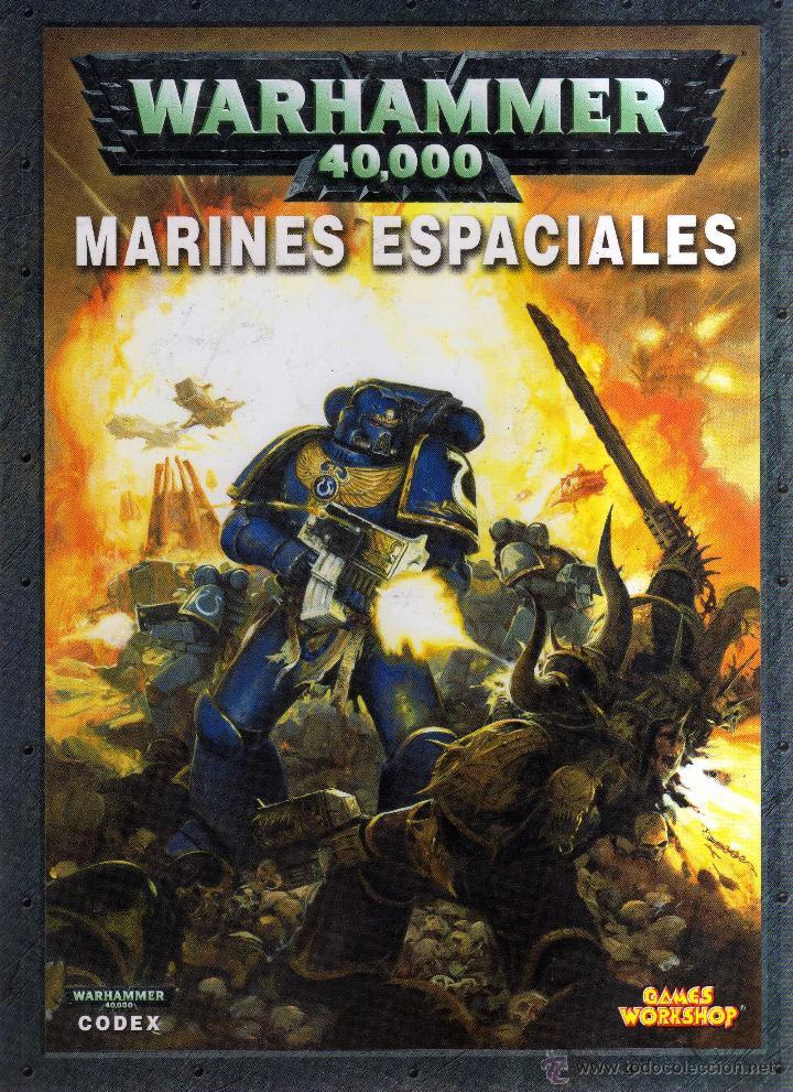 WARHAMMER 40000 MARINES ESPACIALES - GAMES WORKSHOP - CJ98 (Juguetes - Rol y Estrategia - Warhammer)
