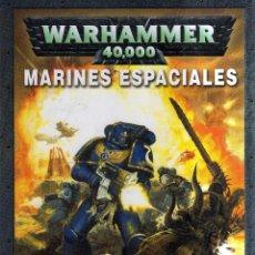 Juegos Antiguos: WARHAMMER 40000 MARINES ESPACIALES - GAMES WORKSHOP - CJ98. Lote 42955315