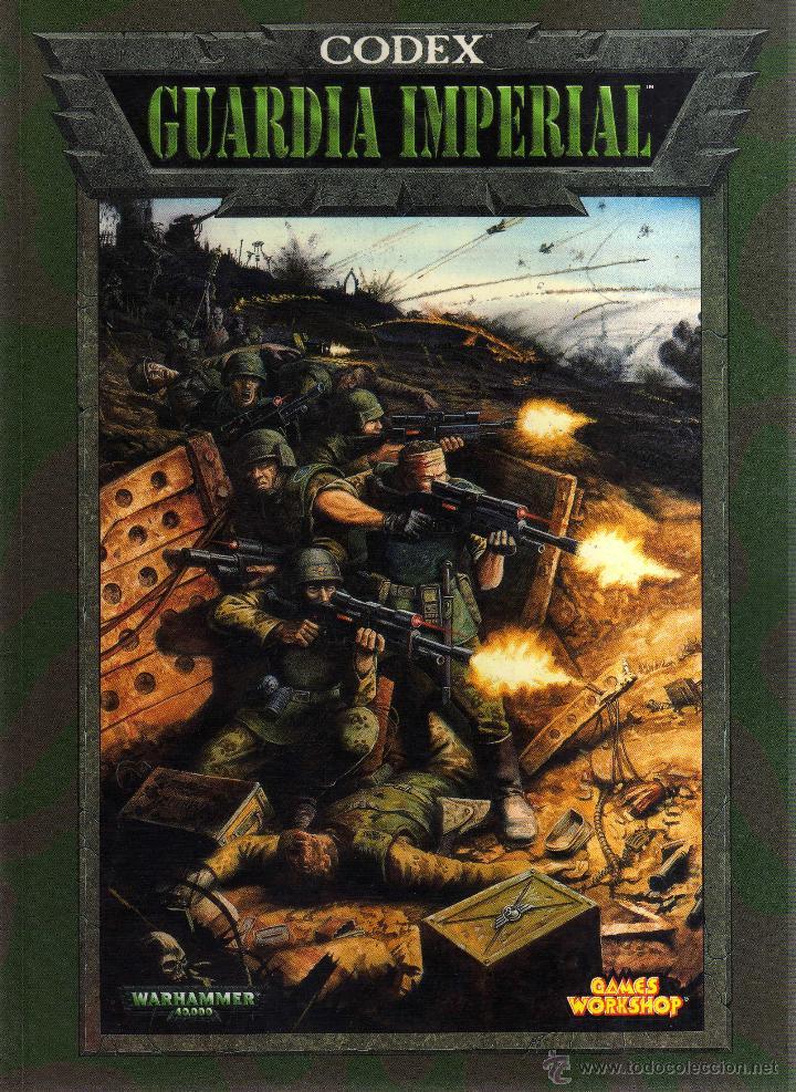Usado, Warhammer 40000 - Codex: Guardia Imperial - Games Workshop - CJ47 segunda mano