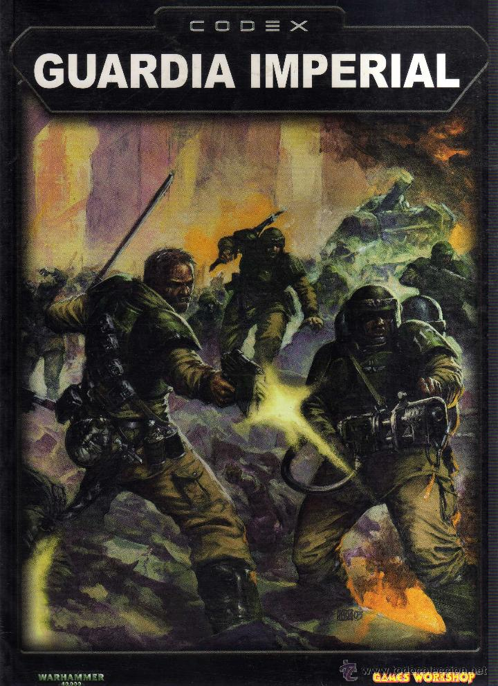 Warhammer 40000 - Codex: Guardia Imperial - Games Workshop - CJ74 segunda mano