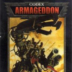 Jeux Anciens: WARHAMMER 40000 - CODEX: ARMAGEDDON - GAMES WORKSHOP - CJ74. Lote 43007270