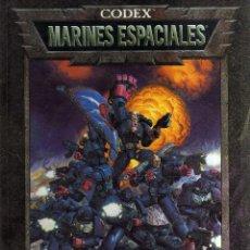 Juegos Antiguos: WARHAMMER 40000 - MARINES ESPACIALES - GAMES WORKSHOP - CJ47. Lote 43007281