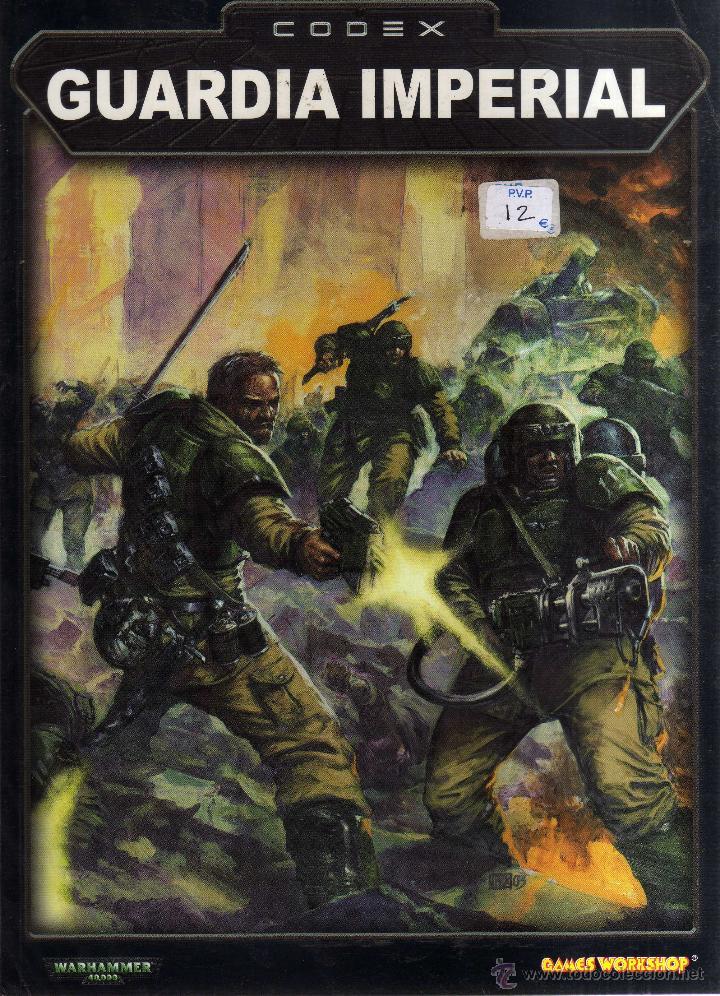 Warhammer 40000 - Codex: Guardia Imperial - Games Workshop - CJ102 segunda mano