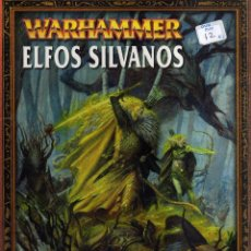 Juegos Antiguos: WARHAMMER - ELFOS SILVANOS - CJ102. Lote 206790075