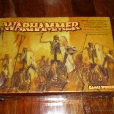 Juegos Antiguos: WARHAMMER BLISTER REGIMIENTO DE CABALLERIA ESQUELETICA 2002 CITADEL DESCATALOGADO NUEVO. Lote 135950049