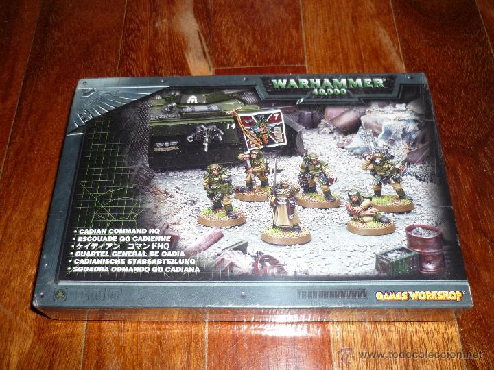 WARHAMMER 40000 CUARTEL GENERAL DE CADIA BLISTER CITADEL DESCATALOGADO NUEVO (Juguetes - Rol y Estrategia - Warhammer)