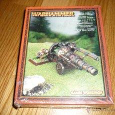 Juegos Antiguos: WARHAMMER CAÑÓN LANZALLAMAS CITADEL 2002 NUEVO BLISTER RARO. Lote 57197840