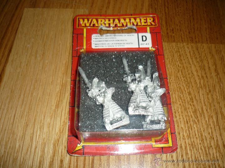 WARHAMMER MAESTROS DE LA ESPADA DE HOETH D CAJA SIN DESPRECINTAR CITADEL 2002 (Juguetes - Rol y Estrategia - Warhammer)