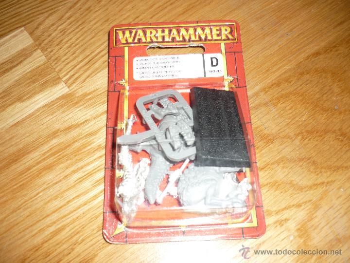 WARHAMMER D SAURIO JINETE DE GELIDO NUEVO PARA ESTRENAR CITADEL 2002 (Juguetes - Rol y Estrategia - Warhammer)