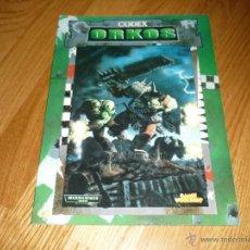 Juegos Antiguos: WARHAMMER 40000 CODEX ORKOS CITADEL 1999. Lote 44078349