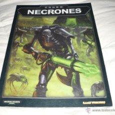 Juegos Antiguos: CODEX NECRONES EDICION 2002 DE WARHAMMER 40.000 40000. Lote 44078426