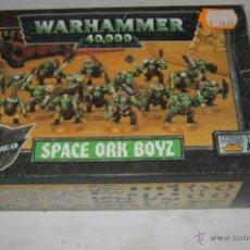 Juegos Antiguos: WARHAMMER 40000, SPACE ORK BOYS, ORKOS, EN CAJA. ( GA-53 ) CC. Lote 44080089