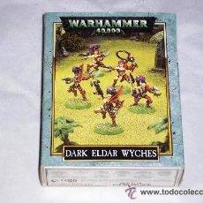 Jogos Antigos: WARHAMMER 40.000 MIL CAJA BRUJAS ELDARS OSCURAS METAL GAMES WORKSHOP - ARTICULO NUEVO. Lote 44354811