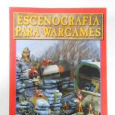 Juegos Antiguos: ESCENOGRAFIA PARA WARGAMES - LIBRO GAMES WORKSHOP. TDK53. Lote 45822903