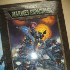 Juegos Antiguos: MARINES ESPACIALES - CODEX -WARHAMMER. Lote 45079425