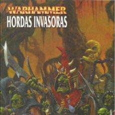Juegos Antiguos: HORDAS INVASORAS WARHAMMER QUINCE LISTAS DE EJERCITO DESCATALOGADO. Lote 45371351