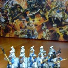 Juegos Antiguos: UNIDAD DE ALABARDEROS IMPERIALES - EL IMPERIO - WARHAMMER - 15 UNIDADES DESCATALOGADAS. Lote 45941511