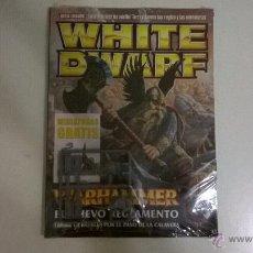 Juegos Antiguos: WHITE DWARF Nº 137 (ESPAÑOL), SEPTIEMBRE 2006 + 2 MINIATURAS (ENANO Y GOBLIN). Lote 46433676