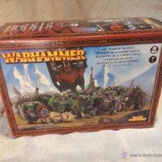 Juegos Antiguos: WARHAMMER...REGIMIENTO GUERREROS ORCOS. Lote 110279908