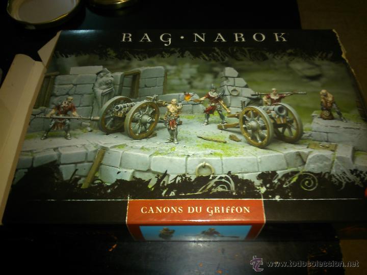 RAGNAROK LES CANONS DU GRIFFON ,CONFRONTATION (Juguetes - Rol y Estrategia - Warhammer)