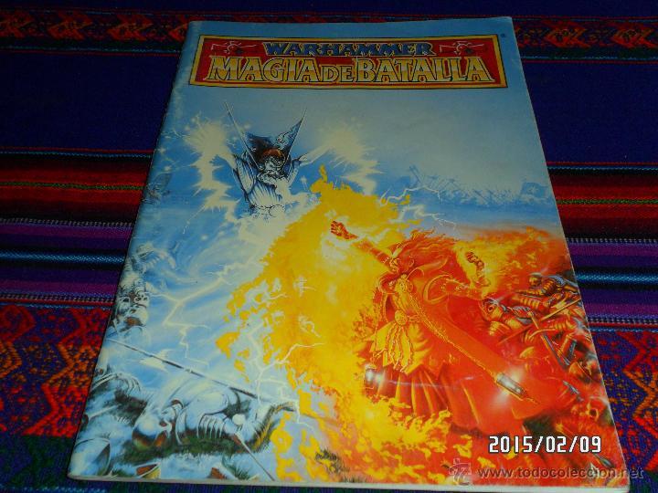 MAGIA DE BATALLA DE GAMES WORKSHOP 1994. WARHAMMER. DE REGALO EL BESTIARIO DE 1993. BE. DIFÍCIL!!!!! (Juguetes - Rol y Estrategia - Warhammer)
