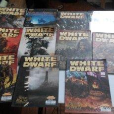Juegos Antiguos: LOTE DE REVISTAS WARHAMMER WHITE DWARF. Lote 48500806