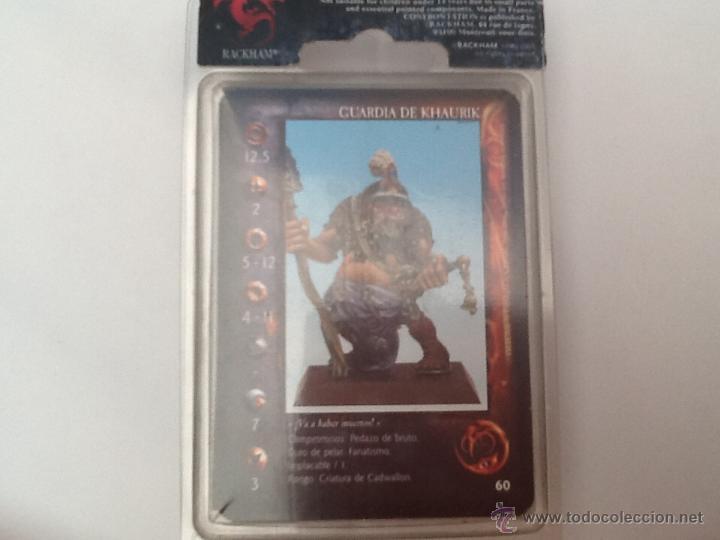Juegos Antiguos: Warhammer confrontation Guardia de Khaurik - Foto 3 - 46360011