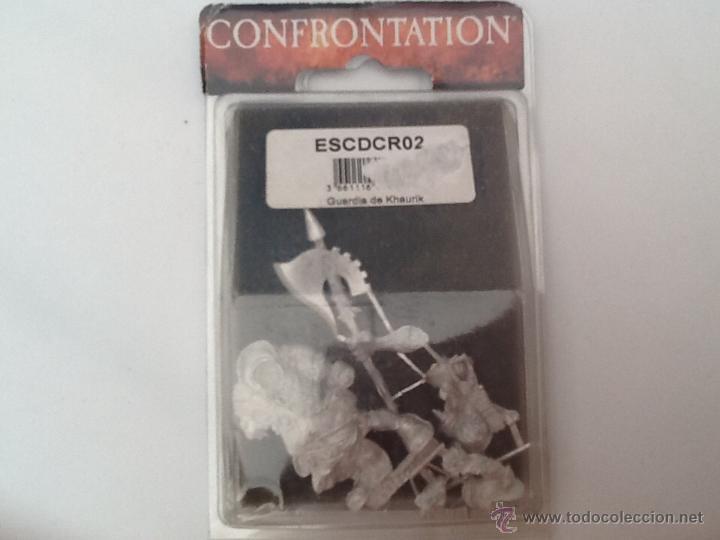Juegos Antiguos: Warhammer confrontation Guardia de Khaurik - Foto 4 - 46360011