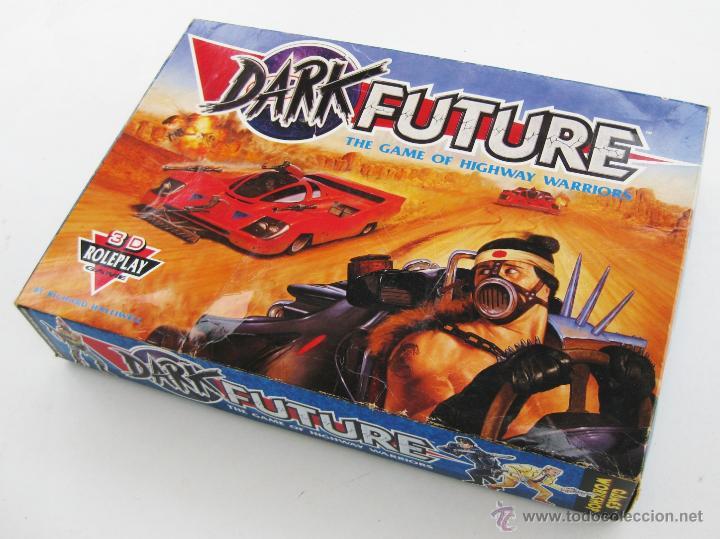 IMPOSIBLE JUEGO DARK FUTURE HIGHWAY WARRIORS TIPO ROL GAMES WORKSHOP DE WARHAMMER TIPO MAD MAX (Juguetes - Rol y Estrategia - Warhammer)