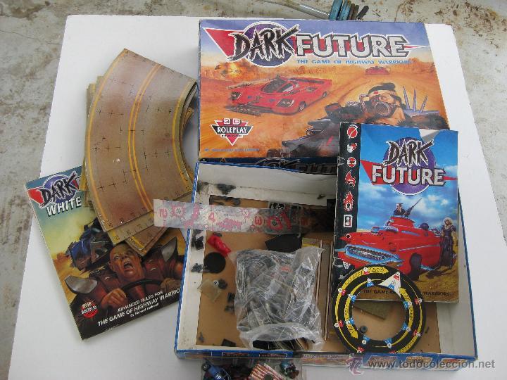 Juegos Antiguos: IMPOSIBLE JUEGO DARK FUTURE HIGHWAY WARRIORS TIPO ROL GAMES WORKSHOP DE WARHAMMER TIPO MAD MAX - Foto 2 - 49944306