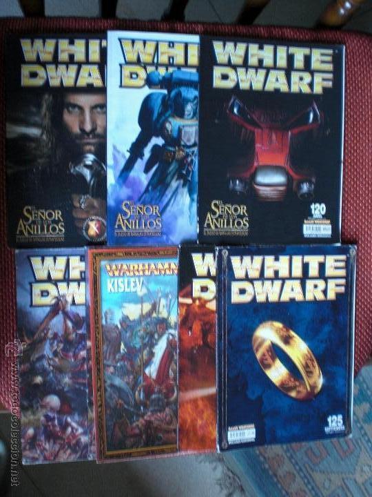 WHITE DWARF LOTE REVISTA WARHAMMER 6 REVISTAS (Juguetes - Rol y Estrategia - Warhammer)