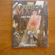 Juegos Antiguos: LOS REINOS DE LA MAGIA 2: ARS PRACTICA - WARHAMMER - JUEGO DE ROL - FACTORIA. Lote 254306020
