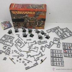 Juegos Antiguos: WARHAMMER REGIMIENTO DE GUERREROS ORCOS. Lote 110080847