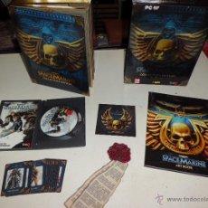 Juegos Antiguos: WARHAMMER SPACEMARINE COLLECTORS EDITION PC GAME COMPLETO EN CASTELLANO DIFICIL. Lote 50978564