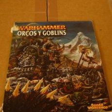 Juegos Antiguos: WARHAMMER ORCOS Y GOBLINS . Lote 51001833