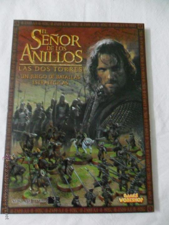 GAMES WORKSHOP, EL SEÑOR DE LOS ANILLOS LAS DOS TORRES (Juguetes - Rol y Estrategia - Warhammer)
