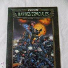 Juegos Antiguos: GAMES WORKSHOP, CODEX MARINES ESPACIALES. Lote 51105686