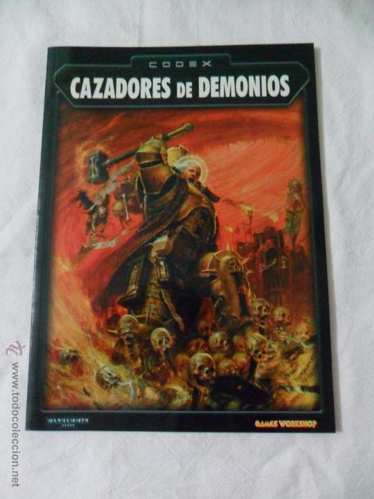 GAMES WORKSHOP, CODEX CAZADORES DE DEMONIOS (Juguetes - Rol y Estrategia - Warhammer)